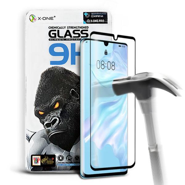 Противоударное защитное стекло для Huawei P30 Pro X-ONE Gorilla Glass 9H на экран (592)