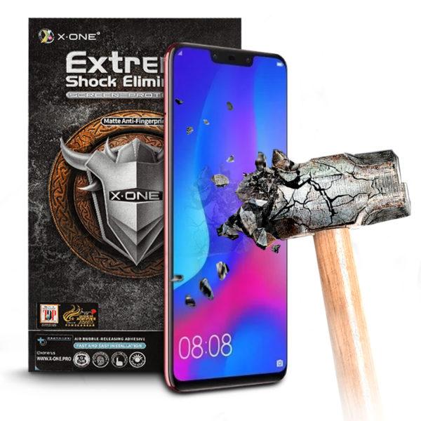 Противоударная защитная бронепленка для Huawei Nova 3 X-ONE Extreme на экран матовая (99)(M)