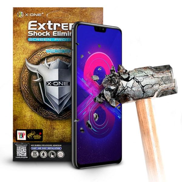Противоударная защитная бронепленка для Honor 8X X-ONE Extreme на экран (259)
