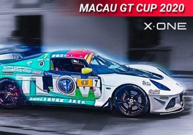 X-ONE выступил главным спонсором команд Mitsubishi и Lotus в Grand Prix Macau 2020